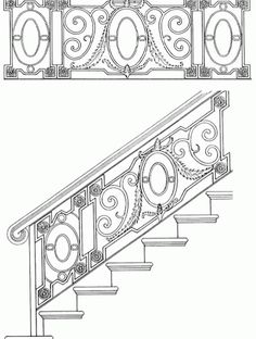 17 Best Grill Design Images Stairs Stair Railing Banisters