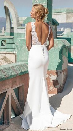 "Elbeth Gillis 2016 Wedding Dresses — Opulence Bridal Collection | Wedding Inspirasi | ""Alicia""-- (Back View)>>>>"