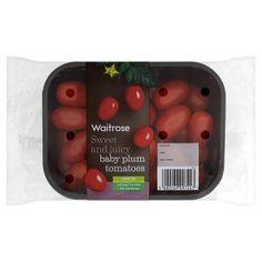Waitrose baby plum tomatoes - Waitrose