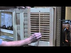 Rockler Shutter System at IWF 2012 Presented by Woodworker's Journal - YouTube