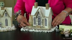 Melissa Frances shows how to decorate little houses through a series of videos - watch them all!