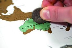 Weltenbummler ? Eine Rubbel Weltkarte, die zeigt wo du schon überall gewesen bist Like <3 Repin <3