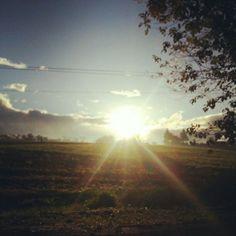 Sunrise in Bukidnon