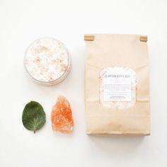 Luxury Bath Salts  Spa Mineral Soak Natural by ArtisanBathandBody