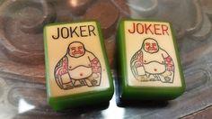Vintage Green Enrobed Royal Depth Control Jokers