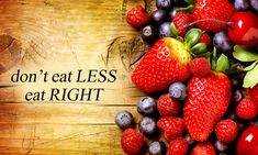 Eat the right amount of calories for how active you are, so that you balance the energy you consume with the energy you use. If you eat or drink too much, you'll put on weight. If you eat and drink too little, you'll lose weight.