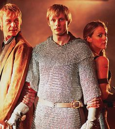 I wish they had more of Tristan and Isolde . . . actually I wish Tristan had become a knight