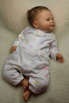 Reborn Baby Doll From Coco Malu by Elisa Marx