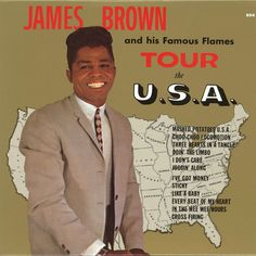"""James Brown and his Famous Flames """"Tour the U.S.A."""" (1965) LP"""