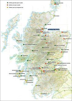 #map #distillery #whiskey Whisky Guild - single malt scotch whisky new york new jersey