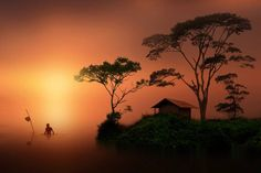 Photo imaging country by iD on Amazing Photography, Nature Photography, Cool Photos, Beautiful Pictures, Amazing Photos, Cool Silhouettes, Grandeur Nature, Id Photo, Silhouette Photography