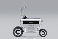 [拡大画像]Car Watch ホンダ、東京モーターショーでEVの2輪・汎用製品も公開