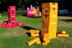 """Svedka has hosted events with giant lawn games. """"Incorporating any nostalgic elements [into events] is to further grow brand..."""