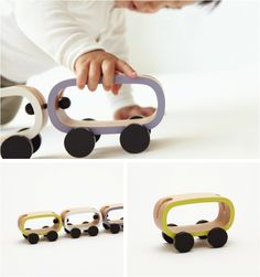 Japanese wooden toys, I like the look of the challenge in these!