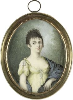 Portrait of a lady, ca. 1805