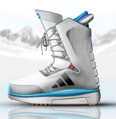 ADIDAS Snowboarding boots on Behance