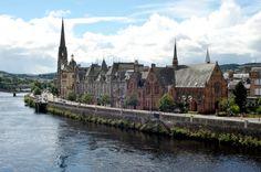 A day in Perth, Scotland