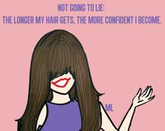True--maybe this is why I've always had long hair...