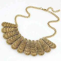 Bohemian style disc necklace.  www.decorajewellery.com