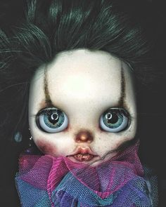 Custom Commission #Cherie #Circus #Blythe #blythecustomdoll #clown #blythehk #blytheooak #blythelove #blythedoll #blythegram #blytheworld…