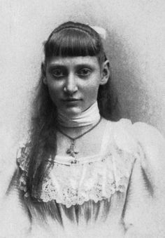 Princess Thyra of Denmark, daughter of king Frederick VIII. 1895