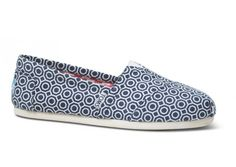Toms Shoes Dark Blue