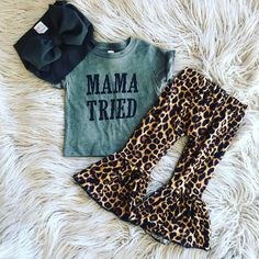 Mexican Outfit Discover mama tried southern toddler outfit/ toddler outfit set/ cheetah print toddler clothing Western Baby Clothes, Western Babies, Baby Kids Clothes, Country Baby Clothes, Baby Girl Clothing, Cowgirl Clothing, Size Clothing, Cowgirl Fashion, Country Girls
