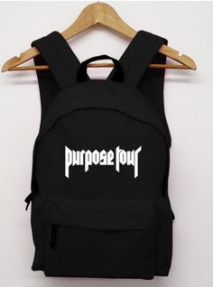 JUSTIN BIEBER PURPOSE TOUR BACKPACK