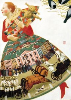 Belts Andrew - Amber and other paintings. 900 Classic russian paintings