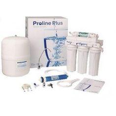 Osmosis inversa de 5 etapas básica. Con su filtro remineralizador e incrementador de pH mejora el sabor del agua y con beneficios para la salud
