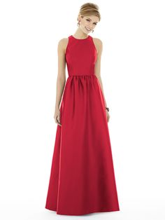 Shop Alfred Sung Bridesmaid Dress - D707 in Sateen Twill at Weddington Way. Find the perfect made-to-order bridesmaid dresses for your bridal party in your favorite color, style and fabric at Weddington Way.
