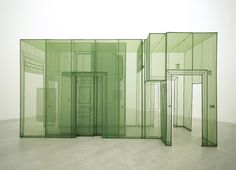 Do Ho Suh, Wielandstr. 18, 12159 Berlin, 2011. Polyester fabric