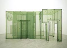 Do Ho Suh, Wielandstr. 18, 12159 Berlin, 2011. Polyester fabric