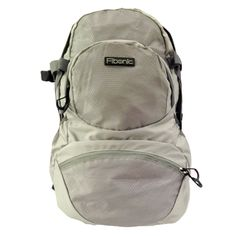 Fibonic Backpack - 30L - Lightweight and Water-Resistant Handy Travel Rucksack for School, College, Camping - Great for Boys and Girls - Includes Nylon Mesh Pockets and Compartment for Laptop, Camera [Grey] -- Don't get left behind, see this great  product : Travel Backpack