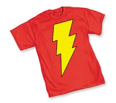 Haha I have this shirt!...and no it's not Flash Gordon...it's Captain Marvel!