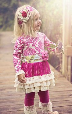 Giggle Moon Raspberry Truffle Tutu Dress & Legging Set3 Months to 6 YearsNow in Stock