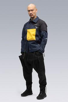 Death Stranding Merch, Urban Fashion, Mens Fashion, Fashion Outfits, Acronym Clothing, Future Fashion, Mens Outfitters, Apparel Design, Asian Men