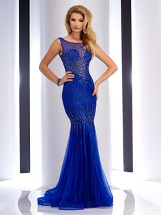 Clarisse 4750 Royal at Rsvp Prom and Pageant, your source for 2016 Prom and Pageant Dresses!