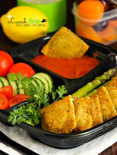 Lunch Box: Breaded Baked Ravioli