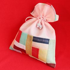 Patchwork wrapping cloth (pouch)