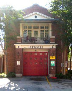 Charming Charlotte, North Carolina Firehouse No. 7   Shared by LION