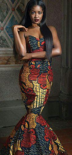 follow me @cushite ♡African Print in Fashion Sura P. Kanye @inkmyafrica