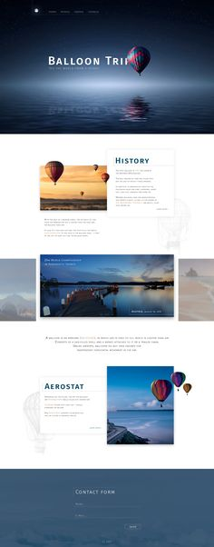 Ознакомьтесь с моим проектом @Behance: «Landing page balloon Trip» https://www.behance.net/gallery/57574737/Landing-page-balloon-Trip