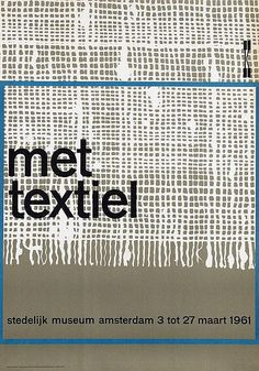 Willem H. Crouwel - met textiel