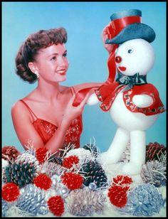 Christmas with Debbie Reynolds.