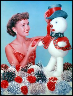 Christmas with Debbie Reynolds.