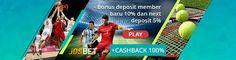 sbobet JOSBET88 : Situs Bandar Judi Bola Online Indonesia - agen bola terpercaya, agen SBOBET & Taruhan Bola Online, Casino, Judi Poker. Call +855 8670 6688 http://josbet88.com