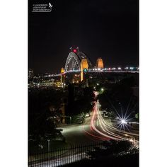 Light trails in Sydney Observatory Hill. #wow_australia #seeaustralia #nikonphotography #newsouthwales #focusaustralia #australiagram #beautiful_australia #colourful #exploreaustralia #ig_captures #ig_australia #jaw_dropping_shots  #earth_ravens #cityscapes #australia_shotz #iloveaustralia #ig_sydney #lighttrails #observatoryhill #sydneyharbourbridge #sydneyatnight by chambers_creations_photography http://ift.tt/1NRMbNv