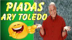 PIADAS do ARY TOLEDO - As Melhores Piadas do Ary Toledo - TOP 10 - Compl...
