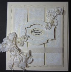 PartiCraft (Participate In Craft): like white on cream and sketch and flowers - she tells how to make them